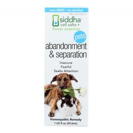 Siddha Flower Essences Abandonment and Separation - Pets - 1 fl oz