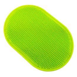 1 Pcs Pet Bath Accessories Cats& Dogs Bath Brush Massage Comb Gloves Green