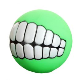 Creative Pet Chew Toy Dog/ Puppy Sound Molar Toys-Green
