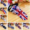 England Style Pet Collar Tie Adjustable Bowknot Cat Dog Collars with Bell-B08
