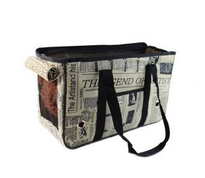 [British Street] Fashion Pet Carriers Tote Bag for Dogs and Cats