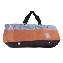 Portable Soft Pet Carrier Tote Bag for Dogs and Cats (L55??W17??H26cm, Orange)