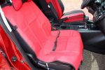 "Waterproof Solid Color Single Seat Dog Car Seat Cover RED (21""Wx41""L)"