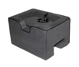 Medium Booster Car Seat - Charcoal
