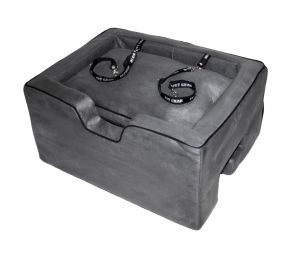 Large Booster Car Seat - Charcoal