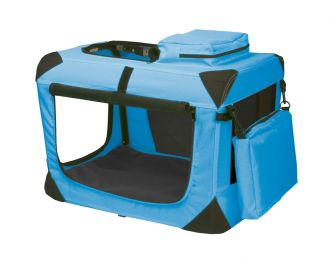 "Generation Ii Deluxe Portable Soft Crate 21"" - Ocean Blue"