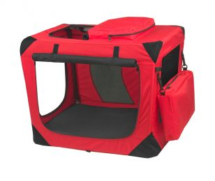 "Generation Ii Deluxe Portable Soft Crate 26.5"" - Red Poppy"
