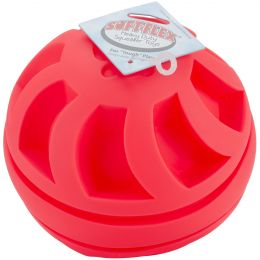 "Soft Flex Swirl Ball 7""-Red"