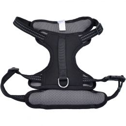 Coastal Reflective Control Handle Harness-Black Large