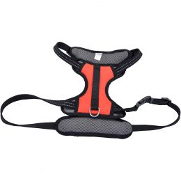 Coastal Reflective Control Handle Harness-Red Large