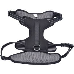 Coastal Reflective Control Handle Harness-Black Extra Large