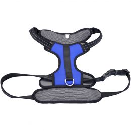 Coastal Reflective Control Handle Harness-Blue Extra Large
