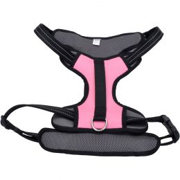 Coastal Reflective Control Handle Harness-Pink Extra Large
